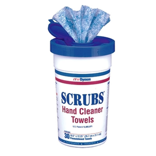SCRUBS Hand Cleaner Towel SKU#DYM42230CT, ITW SCRUBS Hand Cleaner Towels SKU#DYM42230CT