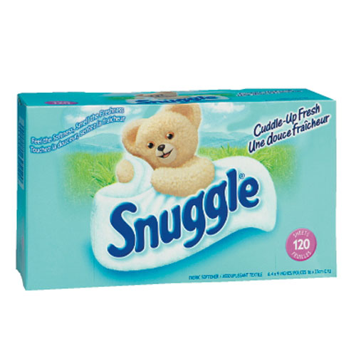 Snuggle Dryer Sheets SKU#DRKCB625126, Diversey Snuggle Dryer Sheets SKU#DRKCB625126