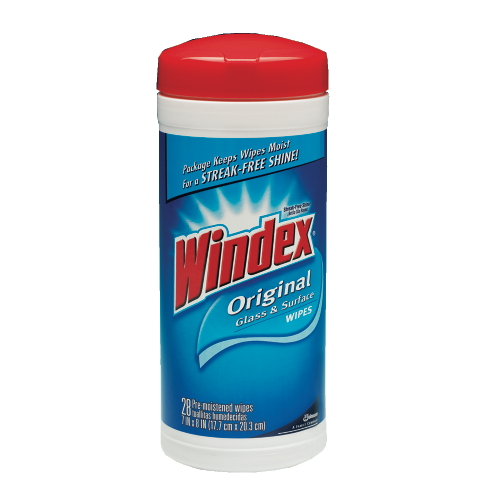 Windex Glass & Surface Wipes SKU#DRKCB701106, Diversey Windex Glass & Surface Wipes SKU#DRKCB701106