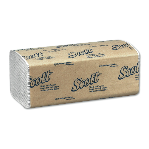 SCOTT Single-Fold Towel SKU#KCC01700, Kimberly Clark SCOTT Single-Fold Towels SKU#KCC01700