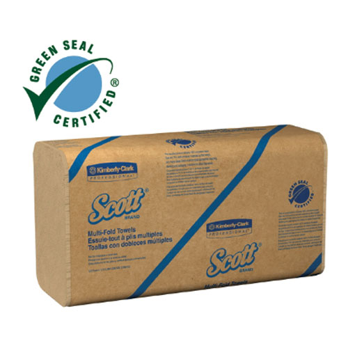 Scott Recycled Fiber Multi-Fold Towel SKU#KCC01801, Kimberly Clark Scott Recycled Fiber Multi-Fold Towels SKU#KCC01801