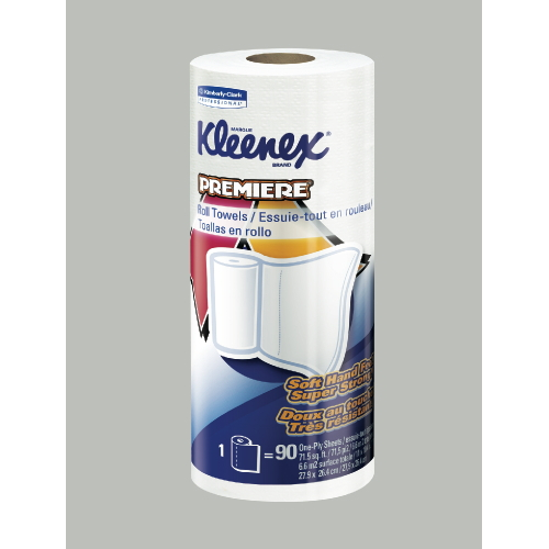 KLEENEX Premiere Perforated Roll Towel SKU#KCC03405, Kimberly Clark KLEENEX Premiere Perforated Roll Towels SKU#KCC03405