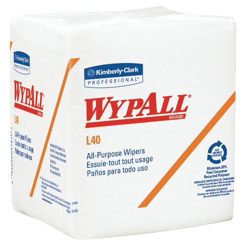 WYPALL L40 Wipers SKU#KCC05701, Kimberly Clark WYPALL L40 Wipers SKU#KCC05701