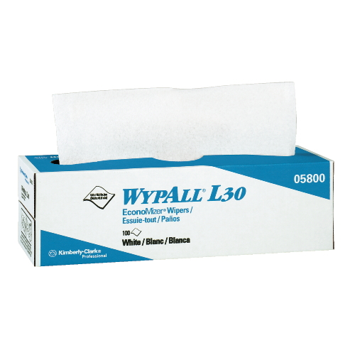 WYPALL L30 Wipers SKU#KCC05816, Kimberly Clark WYPALL L30 Wipers SKU#KCC05816