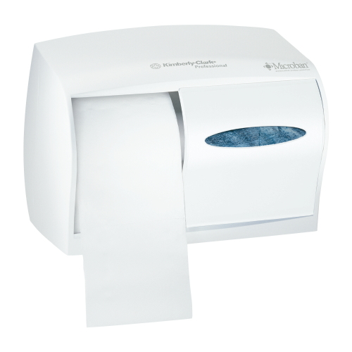 Double Roll Coreless Tissue Dispensers SKU#KCC09605, Kimberly Clark Double Roll Coreless Tissue Dispensers SKU#KCC09605