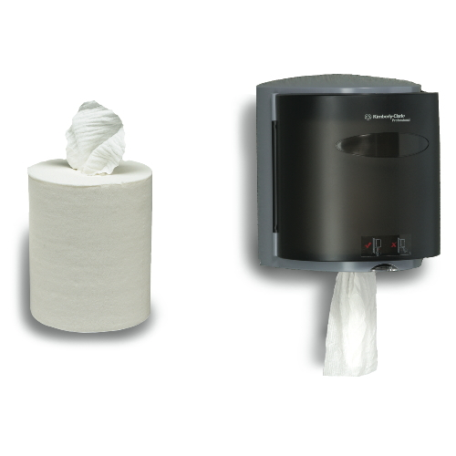 SCOTT IN-SIGHT Roll Control Center-Pull Hand Towel Dispensers SKU#KCC09989, Kimberly Clark SCOTT IN-SIGHT Roll Control Center-Pull Hand Towel Dispenser SKU#KCC09989