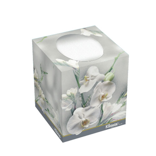 KLEENEX BOUTIQUE Floral Facial Tissues SKU#KCC21269, Kimberly Clark KLEENEX BOUTIQUE Floral Facial Tissue SKU#KCC21269