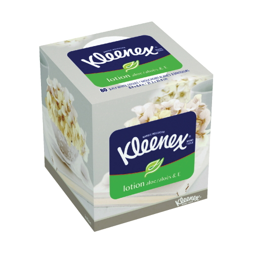 KLEENEX BOUTIQUE Lotion Brand Facial Tissues SKU#KCC26080, Kimberly Clark KLEENEX BOUTIQUE Lotion Brand Facial Tissue SKU#KCC26080