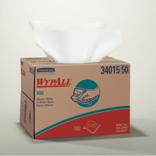 WYPALL X60 Wipers SKU#KCC34015, Kimberly Clark WYPALL X60 Wipers SKU#KCC34015