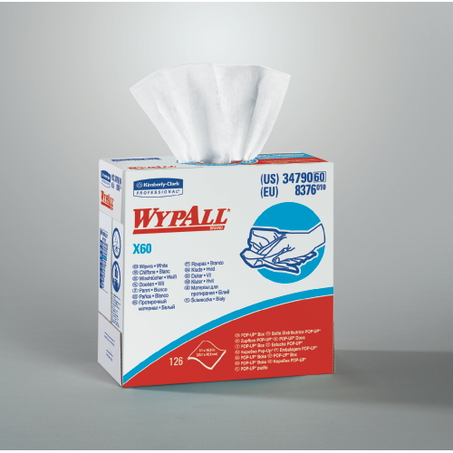 WYPALL X60 Wipers SKU#KCC34790CT, Kimberly Clark WYPALL X60 Wipers SKU#KCC34790CT