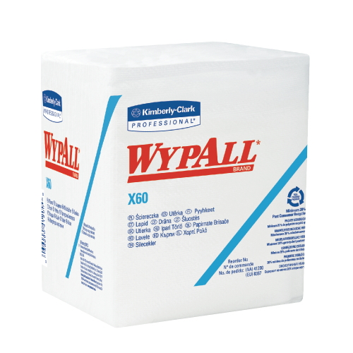 WYPALL X60 Wipers SKU#KCC34865, Kimberly Clark WYPALL X60 Wipers SKU#KCC34865