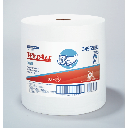 WYPALL X60 Wipers SKU#KCC34955, Kimberly Clark WYPALL X60 Wipers SKU#KCC34955