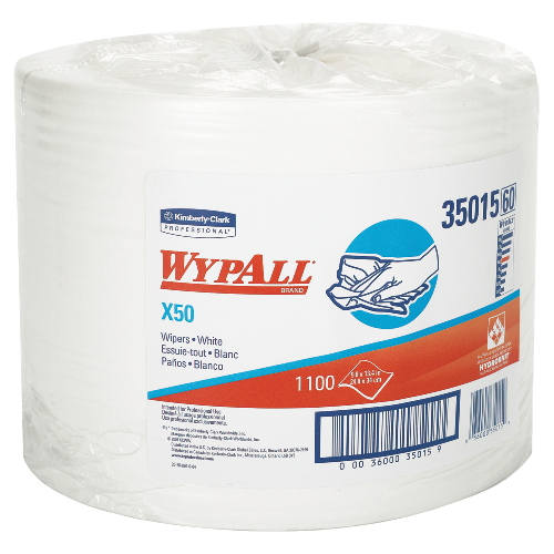WYPALL X50 Wipers SKU#KCC35015, Kimberly Clark WYPALL X50 Wipers SKU#KCC35015