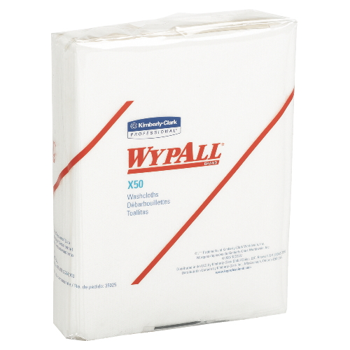 WYPALL X50 Wipers SKU#KCC35025, Kimberly Clark WYPALL X50 Wipers SKU#KCC35025