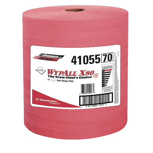 WYPALL X80 Wipers SKU#KCC41055, Kimberly Clark WYPALL X80 Wipers SKU#KCC41055
