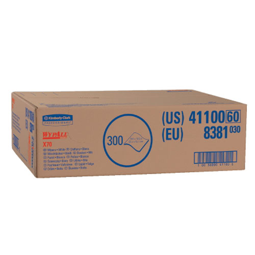 WYPALL X70 Wipers SKU#KCC41100, Kimberly Clark WYPALL X70 Wipers SKU#KCC41100