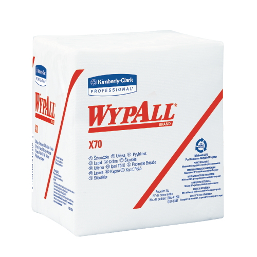 WYPALL X70 Wipers SKU#KCC41200, Kimberly Clark WYPALL X70 Wipers SKU#KCC41200