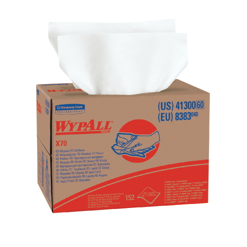 WYPALL X70 Wipers SKU#KCC41300, Kimberly Clark WYPALL X70 Wipers SKU#KCC41300