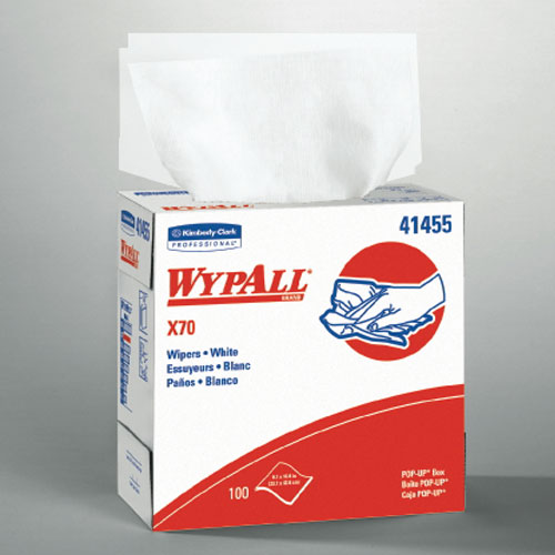 WYPALL X70 Wipers SKU#KCC41455, Kimberly Clark WYPALL X70 Wipers SKU#KCC41455