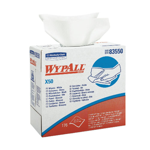 WYPALL X50 Wipers SKU#KCC83550, Kimberly Clark WYPALL X50 Wipers SKU#KCC83550