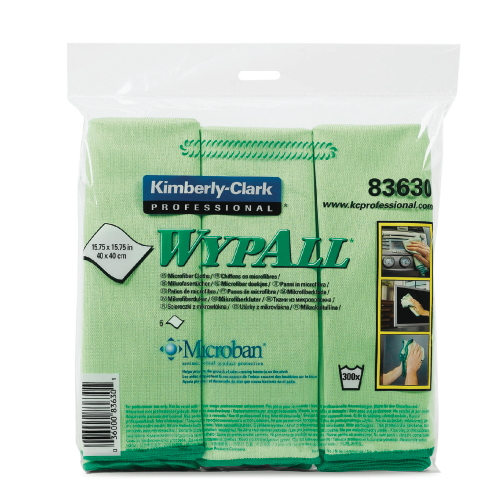 WYPALL Microfiber Cloth w Protection SKU#KCC83630CT, Kimberly Clark WYPALL Microfiber Cloths with Protection SKU#KCC83630CT