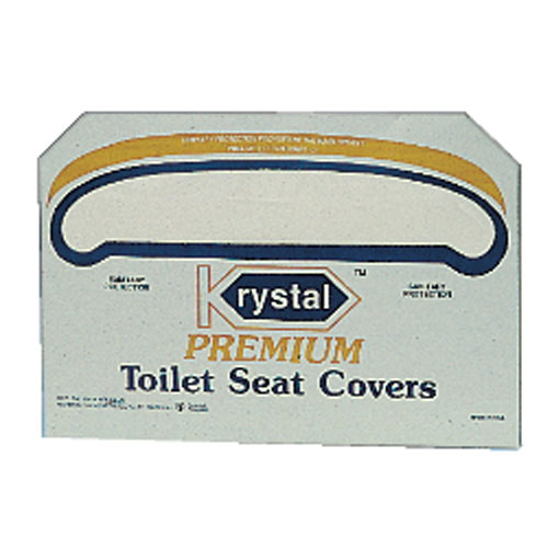 Krystal Toilet Seat Cover Dispensers White SKU#KRYKD100, Krystal Toilet Seat Cover Dispenser (White) SKU#KRYKD100