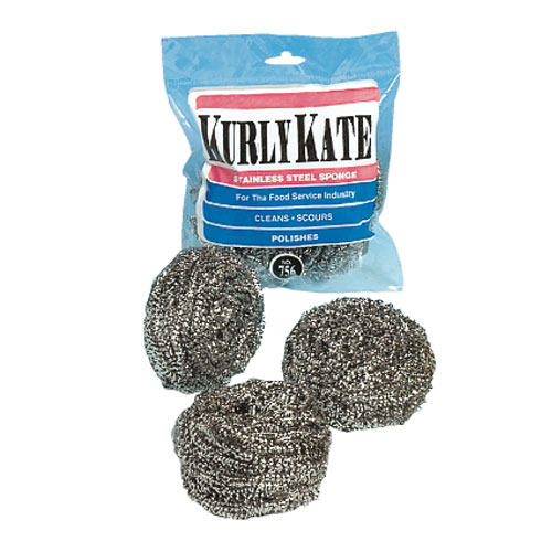 Kurly Kate Stainless Steel Sponges SKU#PUR756, Continental Kurly Kate Stainless Steel Sponges SKU#PUR756