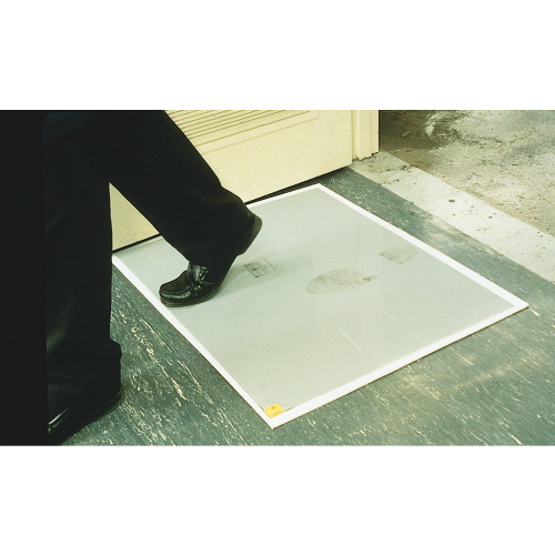 Walk-N-Clean Indoor Adhesive Mats SKU#CROWC3125SWHI, Crown Walk-N-Clean Indoor Adhesive Mat SKU#CROWC3125SWHI