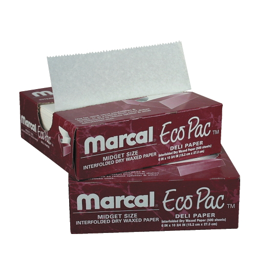 Marcal Eco-Pac Natural Interfolded Dry Wax Paper SKU#MCD5292, Marcal Eco-Pac Natural Interfolded Dry Wax Paper SKU#MCD5292
