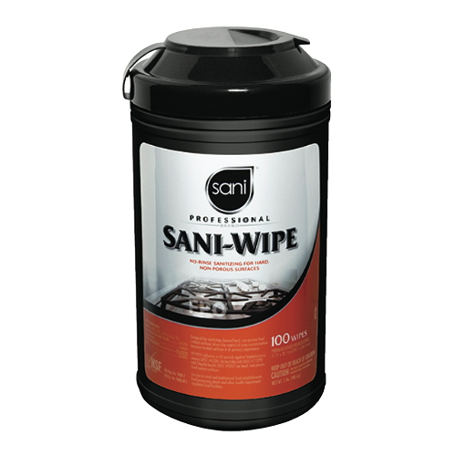 Sani Professional Sani-Wipe No-Rinse Surface Sanitizing Wipes SKU#NICQ94384, Sani Professional Sani-Wipe No-Rinse Surface Sanitizing Wipes SKU#NICQ94384