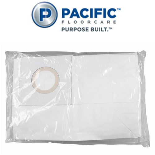 Pacific WAV-30 Wide Area Vacuum Cleaners Accessory Paper Bags SKU#PAC-650602, Pacific WAV-30 Wide Area Vacuum Cleaner Accessory Paper Bags SKU#PAC-650602
