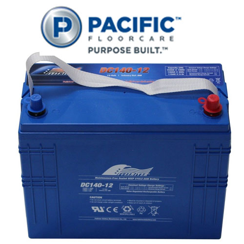 Pacific S-20 Automatic Scrubbers Accessory 140Ah AGM Battery SKU#PAC-841311, Pacific S-20 Auto Scrubber Accessory 140Ah AGM Battery SKU#PAC-841311
