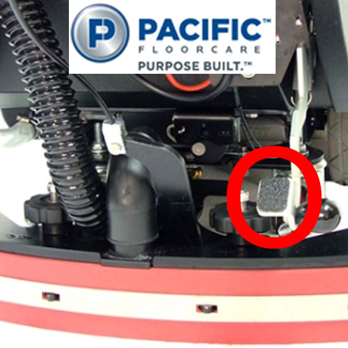 Pacific S-20 Automatic Scrubbers Accessory Parking Brake SKU#PAC-855008, Pacific S-20 Auto Scrubber Accessory Parking Brake SKU#PAC-855008