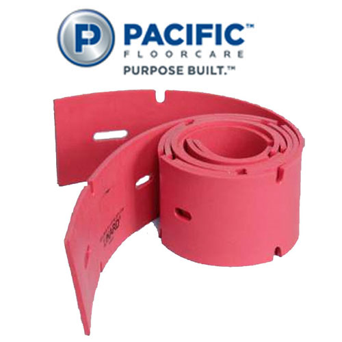 Pacific Floorcare 44.5in Front Linard Rubber Squeegee Blade SKU#PAC-870706, Pacific Floorcare 44.5in Front Linard Rubber Squeegee Blade SKU#PAC-870706