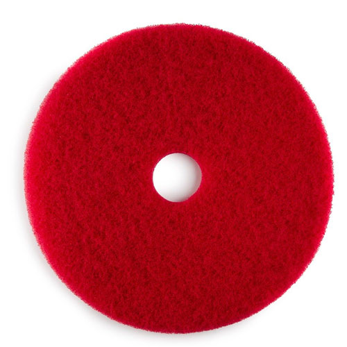 Pacific Floor Machines Accessory 17in Red Pads SKU#PAC-973008, Pacific Floor Machine Accessory 17in Red Pads SKU#PAC-973008