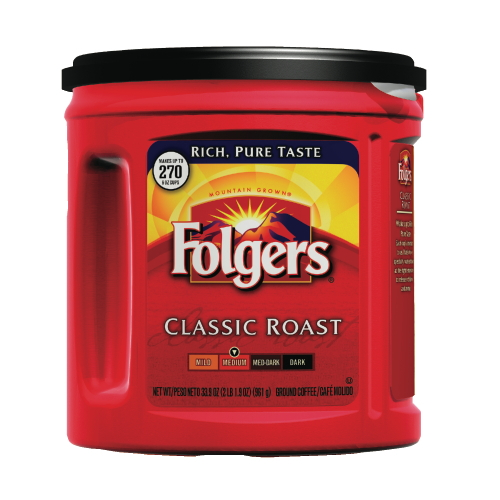 Folgers Mountain Grown Ground Coffee SKU#PGC00367, Procter Gamble Folgers Mountain Grown Ground Coffee SKU#PGC00367