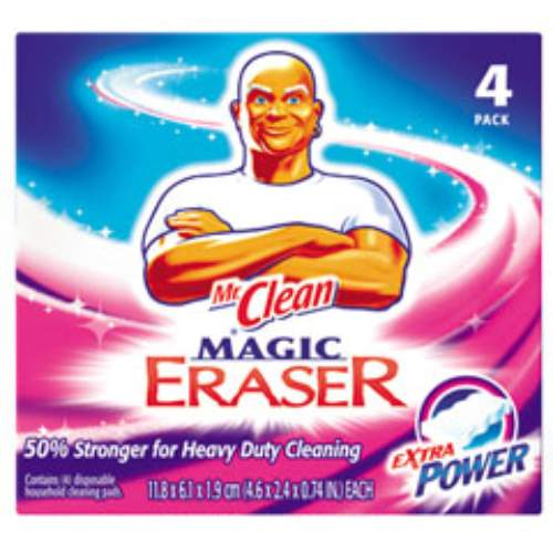 Mr Clean Extra Power Magic Eraser Pad SKU#PGC04250, Procter Gamble Mr Clean Extra Power Magic Eraser Pad SKU#PGC04250