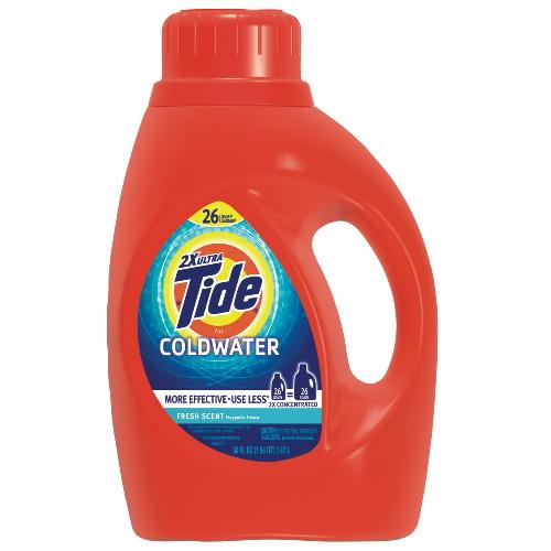Procter Gamble Tide Coldwater Liquid Laundry Detergent Sku
