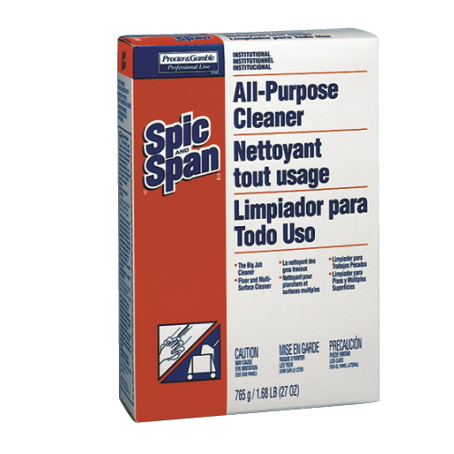 Spic & Span All-Purpose Cleaners SKU#PGC31973CT, Procter Gamble Spic & Span All-Purpose Cleaner SKU#PGC31973CT