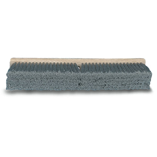 Proline Gray Flagged Polypropylene Floor Brush Head SKU#BRU20424, Proline Gray Flagged Polypropylene Floor Brush SKU#BRU20424
