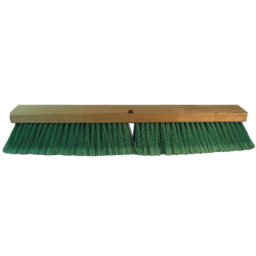 Proline Double Green PET Push Broom Head SKU#BRU20724, Proline Double Green PET Push Broom SKU#BRU20724