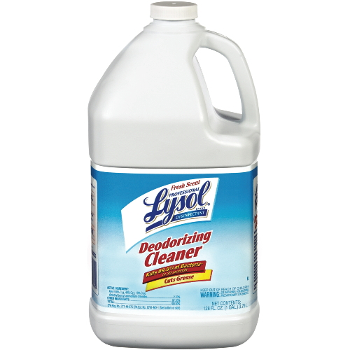 Reckitt Benckiser Professional LYSOL Brand Disinfectant Deodorizing Cleaners Fresh Scent SKU#REC76185, Reckitt Benckiser Professional LYSOL Brand Disinfectant Deodorizing Cleaner Fresh Scent SKU#REC76185