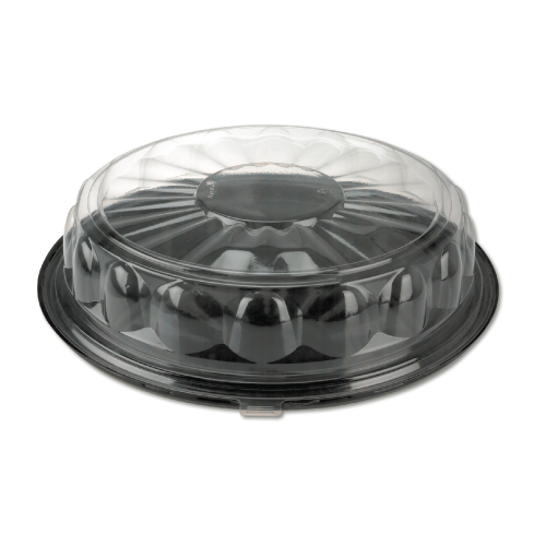 Reynolds Cater-Time Clear Plastic Tray 12 Inch SKU#REY13620, Reynolds Cater-Time Clear Plastic Trays 12 Inch SKU#REY13620