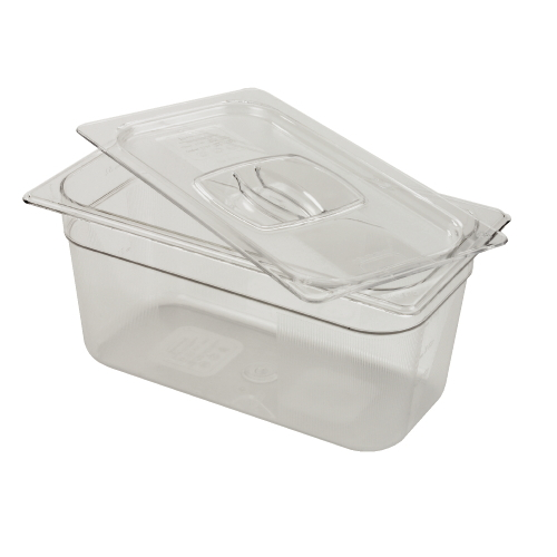 Rubbermaid Cold Food Pan 4 Inches High SKU#RCP117PCLE, Rubbermaid Cold Food Pans 4 Inches High SKU#RCP117PCLE