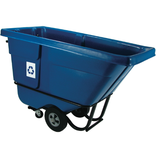 Rubbermaid Bulk Recycling Tilt Trucks SKU#RCP1305-73BLU, Rubbermaid Bulk Recycling Tilt Truck SKU#RCP1305-73BLU