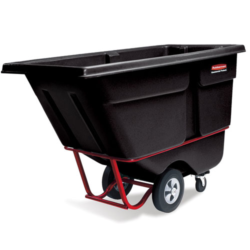 Rubbermaid Commercial Heavy Duty Tilt Trucks SKU#RCP1306BLA, Rubbermaid Commercial Heavy Duty Tilt Truck SKU#RCP1306BLA
