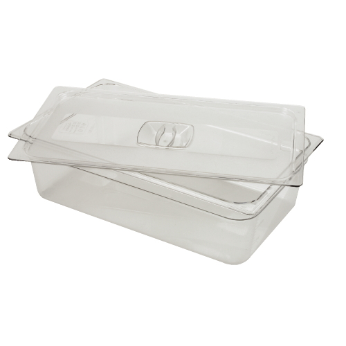 Rubbermaid Cold Food Pan Cover SKU#RCP134PCLE, Rubbermaid Cold Food Pan Covers SKU#RCP134PCLE