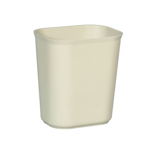 Rubbermaid Fire-Resistant Fiberglass Wastebasket SKU#RCP2541BEI, Rubbermaid Fire-Resistant Fiberglass Wastebaskets SKU#RCP2541BEI