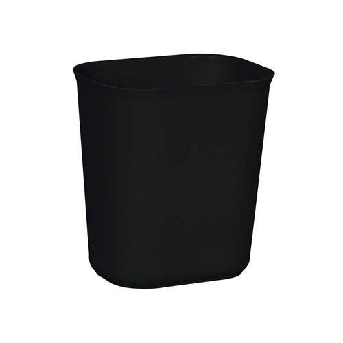 Rubbermaid Fire-Resistant Fiberglass Wastebasket SKU#RCP2541BLA, Rubbermaid Fire-Resistant Fiberglass Wastebaskets SKU#RCP2541BLA