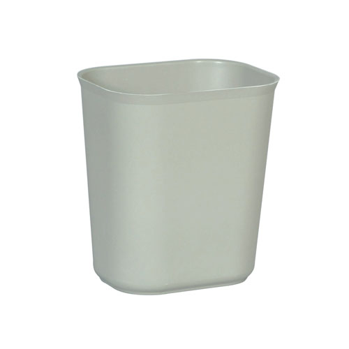 Rubbermaid Fire-Resistant Fiberglass Wastebasket SKU#RCP2541GRA, Rubbermaid Fire-Resistant Fiberglass Wastebaskets SKU#RCP2541GRA